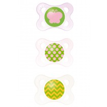 MAM Clear Pacifier - Pink
