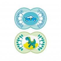 MAM Original Orthodontic Pacifier, 6+ Months, 2-Count