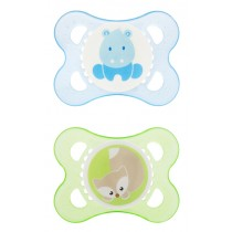 MAM Animals Pacifier - Blue and Green