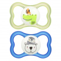 MAM Air Pacifier- Green and Blue