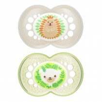 MAM Animal Pacifier - Green and Gray